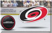 Fan Mats NHL Hurricanes Scraper Puck or Camo Mats