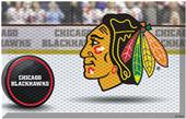 Fan Mats NHL Blackhawks Scraper Puck or Camo Mats