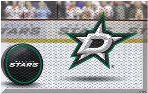 Fan Mats NHL Stars Scraper Puck or Camo Mats
