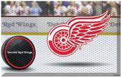 Fan Mats NHL Red Wings Scraper Puck or Camo Mats