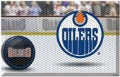 Fan Mats NHL Oilers Scraper Puck or Camo Mats