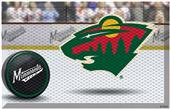 Fan Mats NHL Wild Scraper Puck or Camo Mats