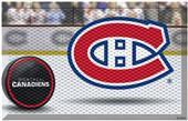 Fan Mats NHL Canadiens Scraper Puck or Camo Mats