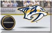 Fan Mats NHL Predators Scraper Puck or Camo Mats