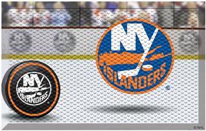 Fan Mats NHL Islanders Scraper Puck or Camo Mats