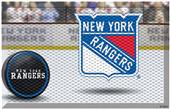 Fan Mats NHL Rangers Scraper Puck or Camo Mats