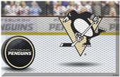Fan Mats NHL Penguins Scraper Puck or Camo Mats