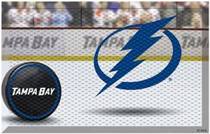Fan Mats NHL Lightning Scraper Puck or Camo Mats