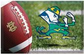 Fan Mats NCAA Notre Dame Scraper Ball or Camo Mats