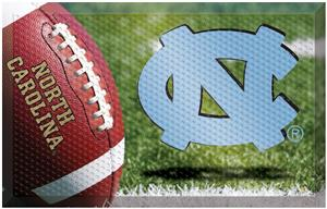 Fan Mats NCAA UNC Scraper Ball or Camo Mats
