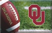 Fan Mats NCAA Oklahoma Scraper Ball or Camo Mats