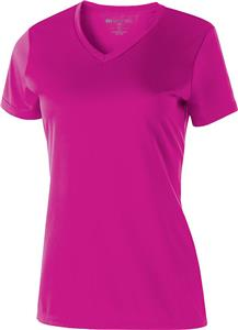 Holloway Ladies Girls Zoom 2.0 Short Sleeve Shirt