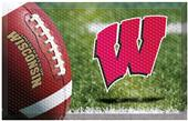 Fan Mats NCAA Wisconsin Scraper Ball or Camo Mats