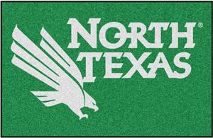 Fan Mats NCAA Univ. of North Texas Starter Mat