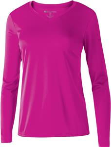 Holloway Ladies Spark 2.0 Long Sleeve Shirt