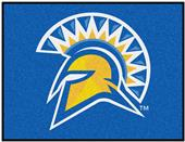 Fan Mats NCAA San Jose State All Star Mat