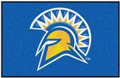 Fan Mats NCAA San Jose State Starter Mat