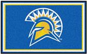 Fan Mats NCAA San Jose State 4' x 6' Rug