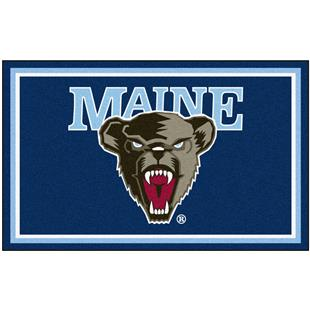 Fan Mats NCAA University of Maine 4' x 6' Rug