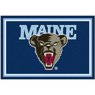 Fan Mats NCAA University of Maine 5' x 8' Rug