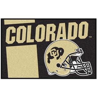 Fan Mats NCAA Univ. of Colorado Starter Mat