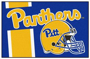 Fan Mats NCAA Univ. of Pittsburgh Starter Mat