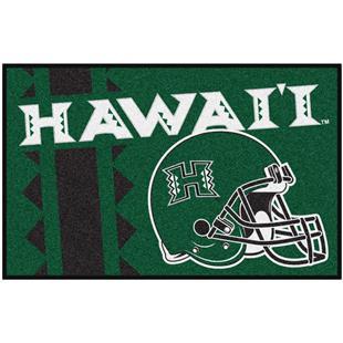 Fan Mats NCAA University of Hawaii Starter Mat