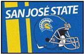 Fan Mats NCAA San Jose State Univ. Starter Mat