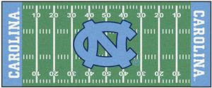 Fan Mats NCAA North Carolina Football Field Runner