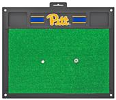 Fan Mats NCAA Univ. of Pittsburgh Golf Hitting Mat