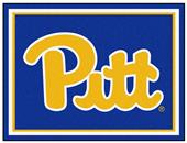 Fan Mats NCAA University of Pittsburgh 8'x10' Rug