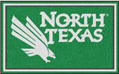 Fan Mats NCAA University of North Texas 4'x6' Rug