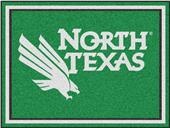 Fan Mats NCAA University of North Texas 8'x10' Rug