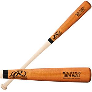 Rawlings 155FMAP Adult Maple Wood Baseball Bats