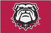 Fan Mats NCAA Univ. of Georgia Red Starter Mat