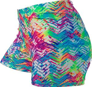 Gem Gear Compression Beach Tracks Spandex Shorts