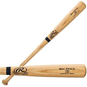 Rawlings 232AP Adult Ash Wood Baseball Bats