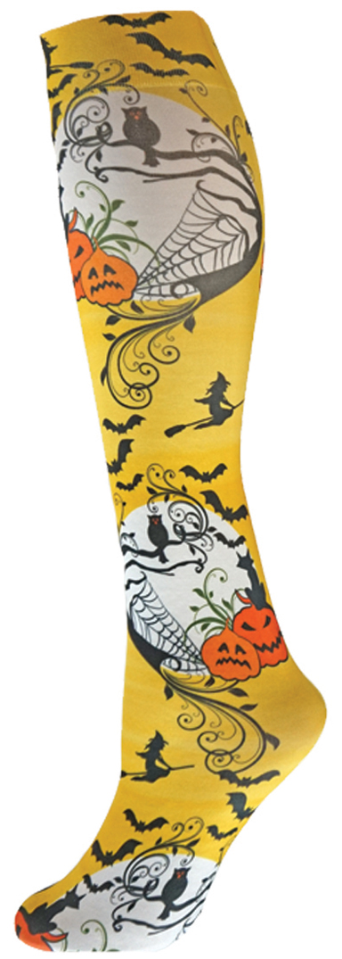 E115017 Nouvella Halloween Holiday Collection Trouser Sock