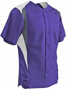 Champro Bull Pen Full Button Baseball Jersey