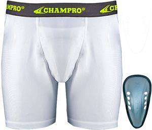Champro Compression Boxer Shorts with Cup