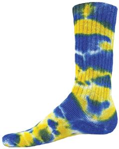 Red Lion Multi Rebel Tie Dyed Crew Socks Closeout