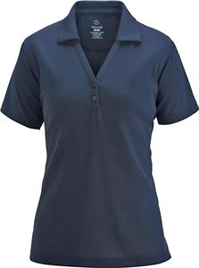 Edwards Womens Polo Shirt w/Johnny Collar