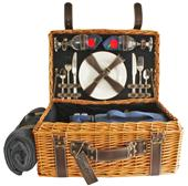 Picnic Pack Willow Picnic Basket for 2 People