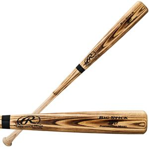 Rawlings Adult Flame Treated Ash Wood Baseball Bat