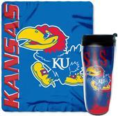 Northwest NCAA Kansas Mug N' Snug Set
