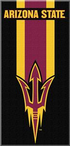 Northwest NCAA Arizona State Zone Read Beach Towel