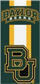 Northwest NCAA Baylor Zone Read Beach Towel