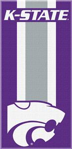 Northwest NCAA Kansas State Zone Read Beach Towel