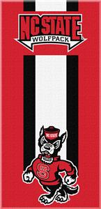 Northwest NCAA NC State Zone Read Beach Towel