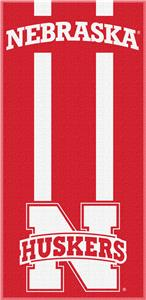 Northwest NCAA Nebraska Zone Read Beach Towel